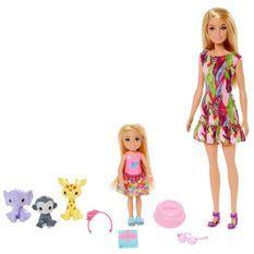 BARBIE Coffret Barbie et Chelsea Anniversaire
