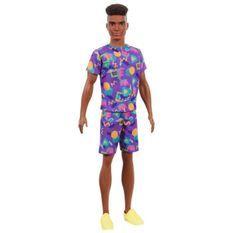 BARBIE Fashionistas Ken T-shirt Motif Fluo