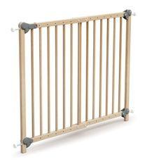 Barrière de sécurité bébé extensible hêtre verni Webaby 73/110 cm