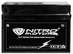Batterie électrique plomb acide 12V/14AH Nitro