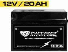 Batterie électrique plomb acide 12V/20AH Nitro