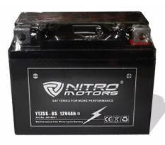 Batterie gel plomb 12V/5AH pour moto enfant Nitro motors
