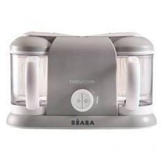 BEABA Robot cuisine bébé 4 en 1 - Babycook Plus gris