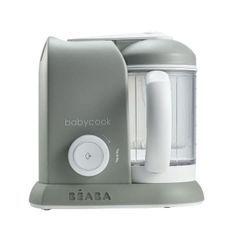BEABA Robot cuisine bébé 4 en 1 Babycook Solo - Gris