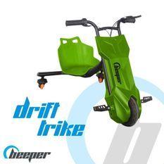 BEEPER RDT100-V7 Driftrike électrique enfant 12V 100W 7Ah Vert