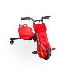 BEEPER Véhicule électrique Drift Trike RDT100 - 12V 6,4 Ah - 100W - Rouge