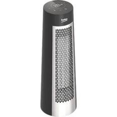 BEKO RHP7122 - Chauffage soufflant céramique - Tour - 2200 W - Minuterie - Oscillant - Ecran tactile digital - Télécommande
