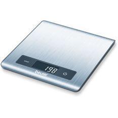 BEURER - KS 51 Balance de cuisine a plat - acier inoxydable