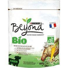 BEYOND Croquettes riches en poulet et riz Bio - Pour chien adulte - 800 g