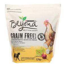 BEYOND Croquettes sans céréales riche en poulet - Pour chat adulte - 1,2 kg