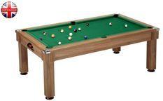 Billard Pool Windsor 7ft châtaignier tapis vert