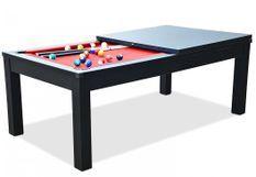 Billard table à manger noir Sportank