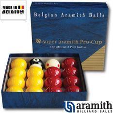 Billes Pool Super Aramith Pro 50,8 mm