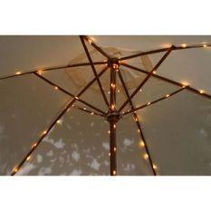 BLACHERE ILLUMINATION Rideau solaire micro LED Parasol