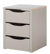 Bloc 3 tiroirs intérieur de 45 cm pour armoire