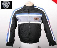 Blouson cross enfant bleu Nitro Racing