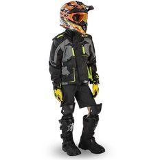 Blouson de protection enfant pour moto et quad Xtrm 81