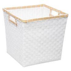Boîte de rangement 31x31 cm - Tressée