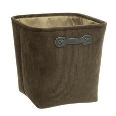 Boîte de rangement 31x31 cm - Velours vert