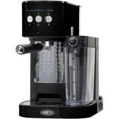 BORETTI B400 Machine a expresso 15 bars - Cappuccino et latté avec mousse de lait - Noir