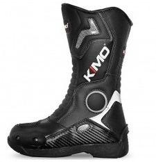 Bottes enfant moto cross Kimo Racing noir