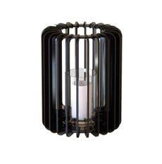Bougeoir cylindrique métal noir Cordial