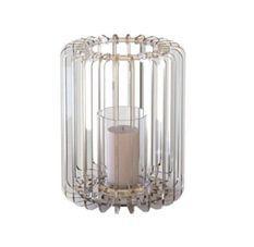 Bougeoir cylindrique plexiglas transparent Cordial