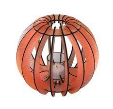 Bougeoir métal cuivré T-light Sphère