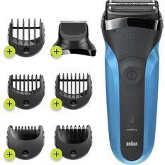Braun Series3 310BT Rasoir Électrique Homme - 3lames flexibles qui s'adaptent aux contours de votre visage