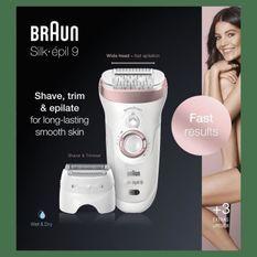 Braun Silk-épil99-720 Épilateur - technologie Micro-Grip - tete40% plus large
