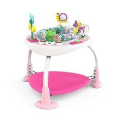 BRIGHT STARTS Aire d'éveil Bounce Bounce Baby™ 2-in-1 Activity Jumper & Table - Playful Palms™