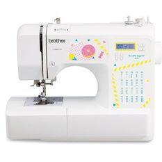 BROTHER KE20 – Machine a coudre électronique pour jeunes créatifs– 20 points de couture – Protege-doigts – Systeme d'enfile-aiguil