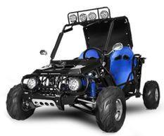 Buggy ado 125cc automatique Midi bleu