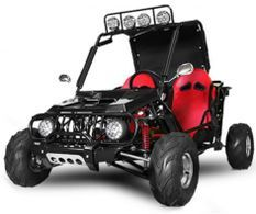 Buggy ado 125cc automatique Midi rouge