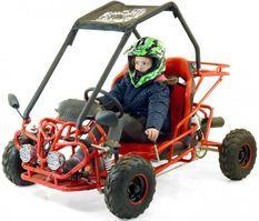 Buggy enfant 110cc rouge