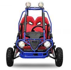 Buggy enfant 50cc automatique Sport bleu