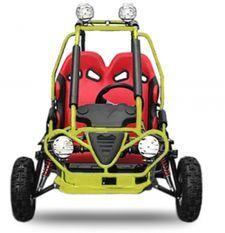 Buggy enfant 50cc automatique Sport jaune
