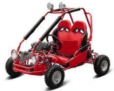 Buggy enfant 50cc automatique Sport rouge