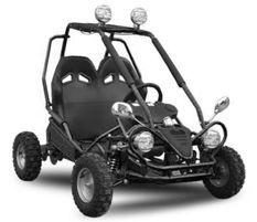 Buggy enfant électrique 450W noir