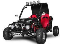 Buggy Midi 125cc Semi auto Noir