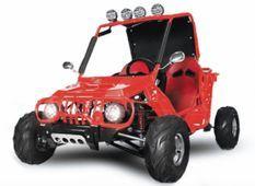 Buggy Midi 125cc Semi auto Rouge