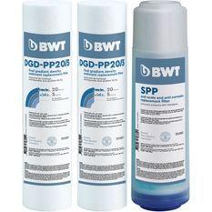 BWT Pack de 3 cartouches de remplacement anti-impuretés, antitartre et anticorrosion