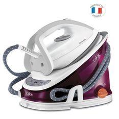 CALOR GV6811C0 Centrale Vapeur EFFECTIS ANTI-CALC - Haute pression - 6.3 bars de pression vapeur - 300 g/min - Blanc et rose