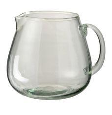 Carafe verre transparent Cintee H 18 cm