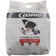 CASINO Croquettes au boeuf et aux légumes - Pour chien - 10kg (x1)