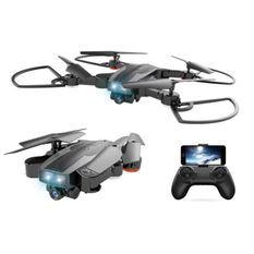 CDTS Drone Tracker - Caméra Wifi HD 720P - 24,50 x 24,50 cm