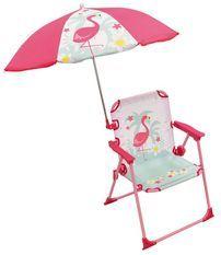 Chaise avec parasol Flamingo