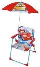 Chaise avec parasol Ice Racing Cars Disney