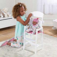 Chaise haute pour poupées Kidkraft