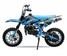 Chakal deluxe 49cc bleu 10/10 Dirt bike enfant
